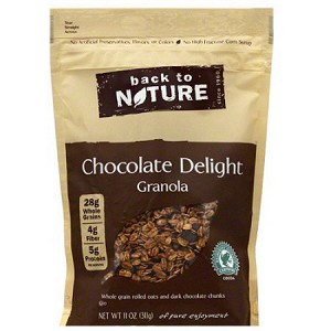 Back to Nature Chocolate Delight Granola, 11 oz