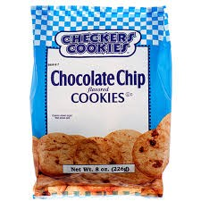 Checkers Cookies Chocolate Shortbread 9 oz
