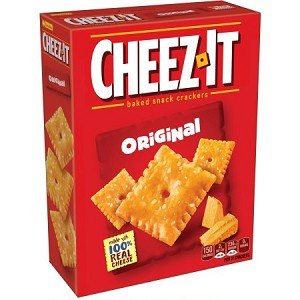 Cheez-It Baked Snack Crackers Original, 7.0 OZ