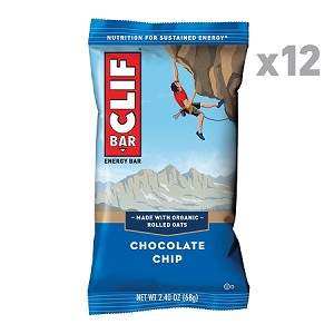 CLIF Bar, Chocolate Chip, 2.4 Oz Energy Bar