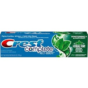 Crest Complete Whitening+Herbal Mint Expressions Toothpaste 6 oz