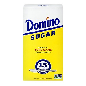 Domino Premium Cane Granulated Sugar, 1 lb