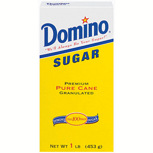 Domino Premium Pure Cane Granulated Sugar (16oz)