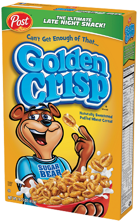 Golden Crisp Naturally Sweetened Puffed Wheat Cereal 14.75 oz.