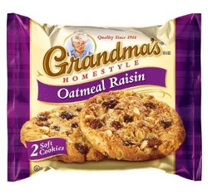 Home > Cookies / Crackers > Grandmas Oatmeal Raisin Cookie 2.5 oz
