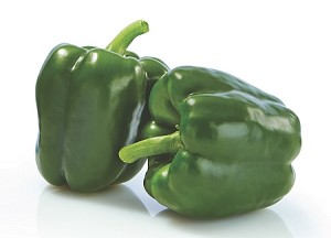 Green Bell Pepper ( 2 Count)