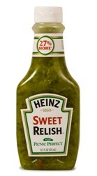 Heinz Squeeze Sweet Relish 12.7 oz