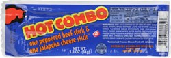 Highland Beef Farms Hot Combo Beef/Cheese Stick 1.8 oz