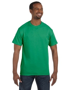 JERZEES 50/50 TEE SHIRT (Kelly Green)
