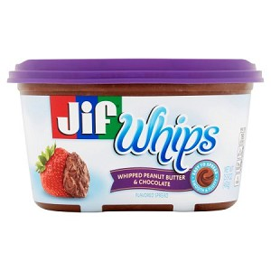 Jif Whips Whipped Peanut Butter & Chocolate Flavored Spread, 15.9 oz