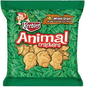 KEEBLER ANIMAL CRACKER 1 OZ Bag