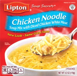 Lipton Chicken Noodle Soup with Meat 5 oz.
