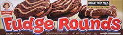 Little Debbie Fudge Rounds 9.5 oz
