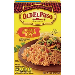 Old El Paso Cheesy Mexican Rice, 7.6 oz Box