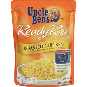 UNCLE BEN'S Ready Rice Roasted Chicken Flavored Rice
