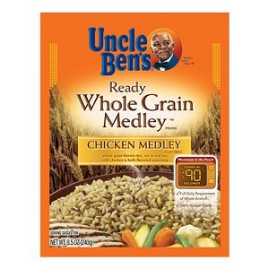 Uncle Ben's: Chicken Medley Ready Whole Grain Medley Pouch, 8.5 Oz