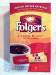 Folgers Instant Coffee Crystals (Pack of 7)