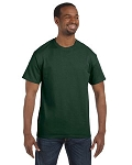 JERZEES 50/50 TEE SHIRT (Forest Green)