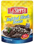 La Sierra Premium Refried Black Beans, 15.2 oz