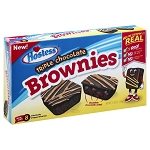 Hostess Hst Triple Chocolate Brownie 8ct