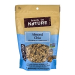 Back to Nature Almond Chia Granola Clusters, 11.0 OZ