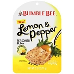 Bumble Bee Lemon & Pepper Seasoned Tuna, 2.5 oz