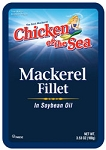 Chicken of the Sea Mackerel Fillet in Oil 3.53 oz.