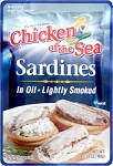 Chicken of the Sea Sardines in Oil Sauce  Lightly smoked 3.53 oz