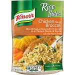 Knorr Rice Sides, Chicken Broccoli, 5.5 oz