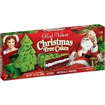 Little Debbie Red Velvet Christmas Tree Cakes, 5 count, 7.91 oz