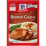McCormick Brown Gravy Mix Seasoning Packet, 0.87 oz
