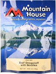 Mountain House Beef Stroganoff with Noodles Entree 5 oz