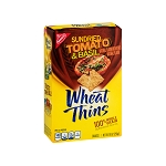 Nabisco Wheat Thins Wheat Thins, Sun Dried Tomato & Basil Crackers, 9 OZ
