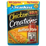 StarKist Chicken Creations BOLD Buffalo Style Chicken, 2.6 oz. Pouch