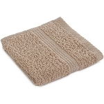100% Cotton Wash Cloth - Tan
