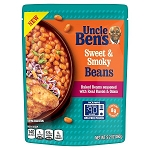 UNCLE BEN'S Sweet & Smoky Beans, (Pouch) 9.2 oz