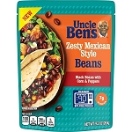 UNCLE BEN'S Zesty Mexican Style Beans, (Pouch) 9.2 oz