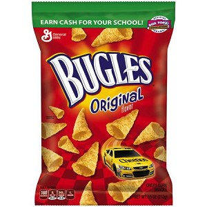 Bugles Original Flavor Crispy Corn Snacks, 7.5 oz