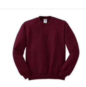 Jerzees Women's SweatShirt 50/50 NuBlend Fleece Crew (Maroon)