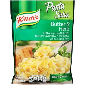 Knorr Butter and Herb Pasta Sides, 4.4 oz