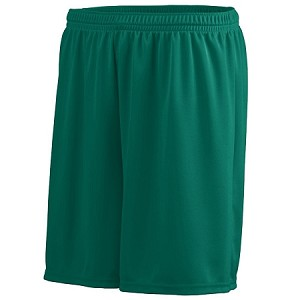 MEN'S OCTANE BASKETBALL SHORTS (FOREST GREEN)
