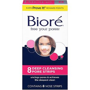 Biore Deep Cleaning Pore Strips 8 pk