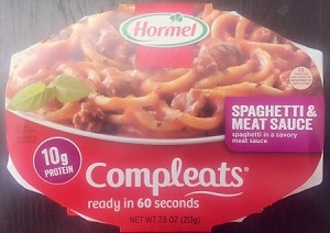 Hormel Compleats Balanced Selections Spaghetti & Meatballs, 10 oz