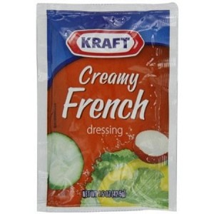Kraft Kraft Creamy French Salad Dressing, 1.5-Ounce Packages