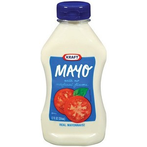Kraft Mayonnaise 12 oz. Squeeze Bottle