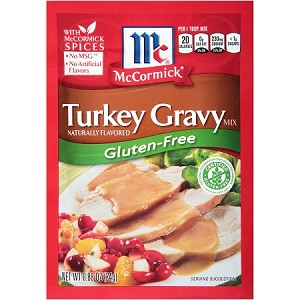 McCormick Turkey Gravy Dry Mix .87 oz