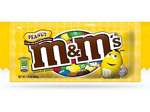 M & M's Milk Chocolate Coated Candy w/Peanut Center