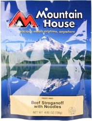 Mountain House Beef Stroganoff with Noodles Entree