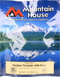 Mountain House Chicken Teriyaki with Rice Entree