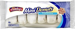 Mrs Freshley's Powdered Mini Donuts 4 oz